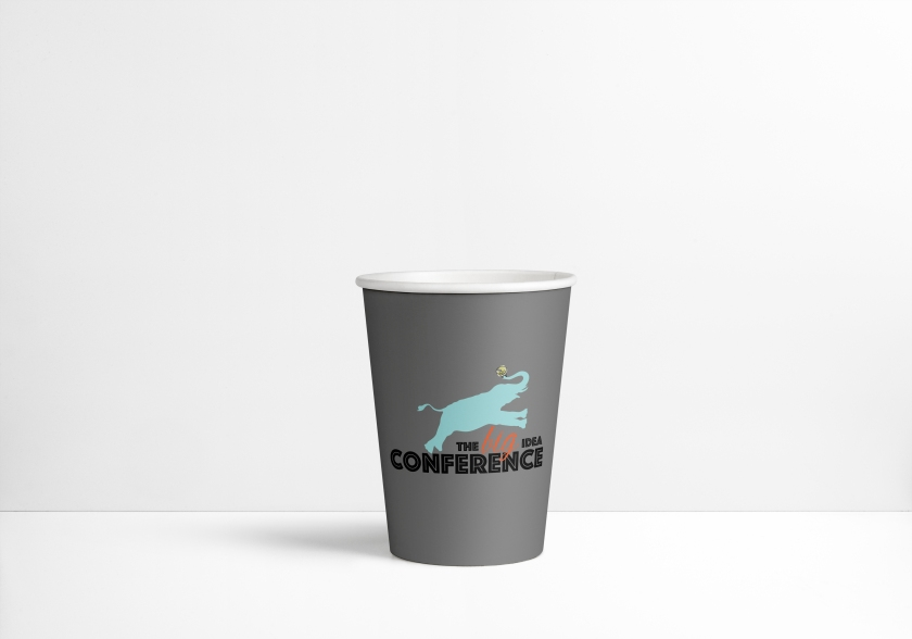 Paper Cup MockUp PSD